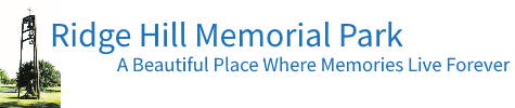 Ridge Hill Memorial Park Logo